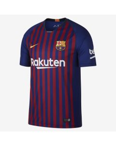 Nike Barcelona Home Jersey Mens 2018/19 - Navy/Red