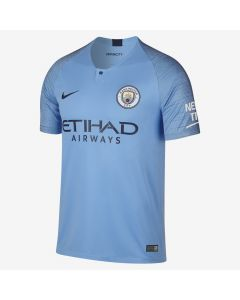 Nike Manchester City Home Jersey Mens 2018/19 - Field Blue