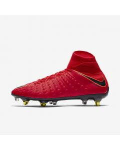 Nike Hypervenom Phantom III DF SG-Pro - Red/Black - fire & ice red