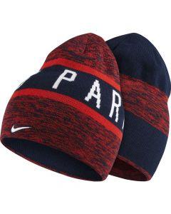 Nike PSG Training Beanie - Navy/Red