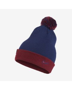 Nike Barcelona Cuffed Waffle Knit Beanie - Royal