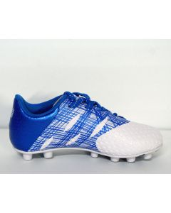 Admiral Evo Firm Ground Junior Soccer Cleats - Royal/White