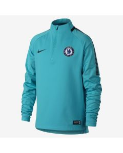 Nike Chelsea Squad Drill Top Youth 2017/18 - Omega Blue
