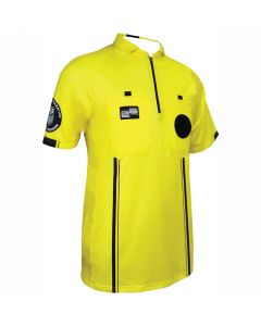 USSF Pro SS Referee Shirt - Yellow/Black