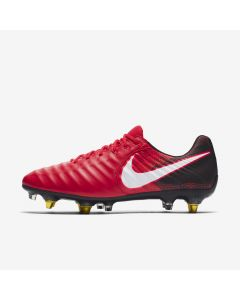 Nike Tiempo Legend VII Anti-Clog SG-Pro - Red/Black - fire & ice red