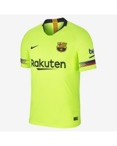 Nike Barcelona Vapor Match Away Jersey Mens 2018/19 - Yellow