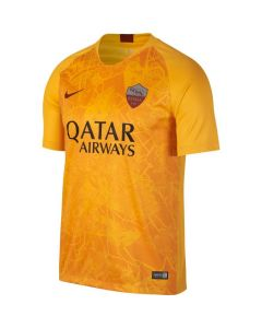 Nike A.S. Roma 3rd Jersey Mens 2018/19 - Gold