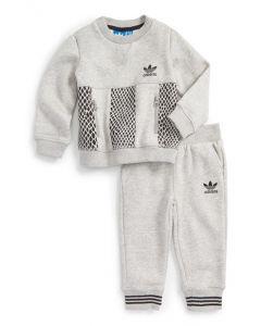 adidas Mini Me Tracksuit - Grey/black