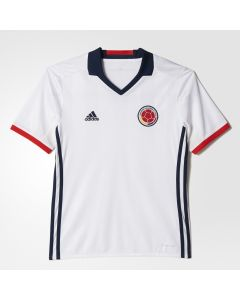 adidas Colombia Home Jersey Youth 2015/16 - White