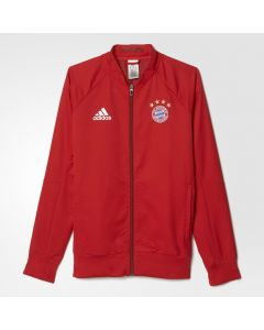 adidas Bayern Anthem Jacket 2015/16 - True Red