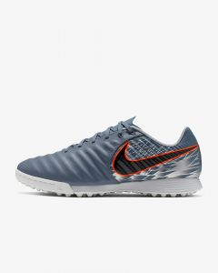 Nike Tiempo LegendX 7 Academy Turf Soccer Shoes Mens - Grey/Black - Victory Pack