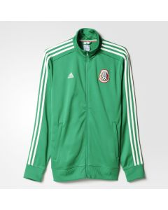 adidas Mexico 3 Stripe Track Top - Green
