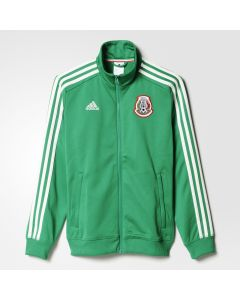 adidas Mexico 3 Stripe Track Top Youth - Grn/Wht