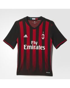 adidas AC Milan Home Jersey Youth 2016/17 - Black