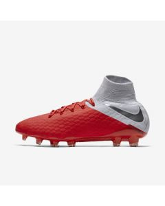 Nike Hypervenom 3 Pro FG - Crimson Grey - Raised on Concrete
