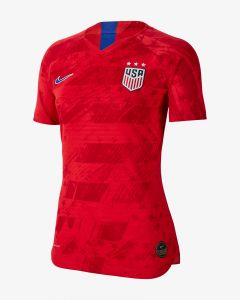 Nike USA Womens Away Vapor Match Jersey 2019/20 - Red