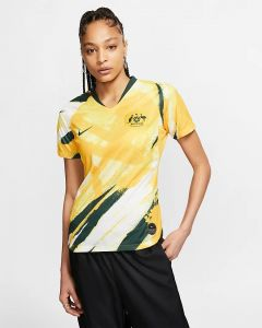 Nike Australia Ws Home Jersey 2019 - Yellow/Green