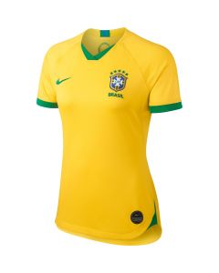 Nike Brasil Womens World Cup Home Jersey 2019 Yellow/Green
