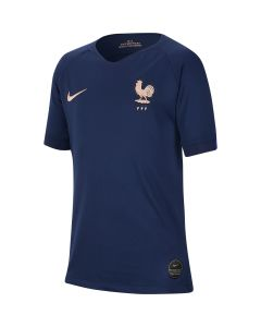Nike France Youth Home Jersey 2019 - Navy