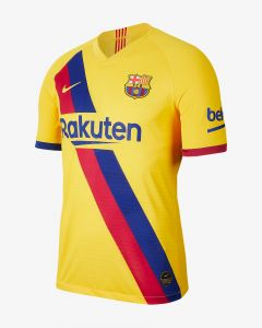 Nike Barcelona Mens Authentic Away Jersey 19/20