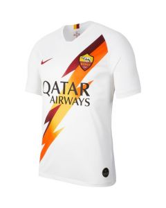 Nike A.S. Roma Mens Away Jersey 2019/20-White/Red