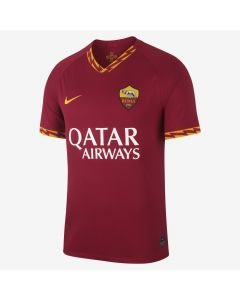 Nike A.S. Roma Stadium Home Jersey Mens 2019/20 - Red/Yellow