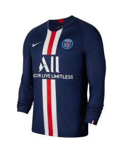 Nike PSG Mens Home Long Sleeve Stadium Jersey 2019/20 - Navy