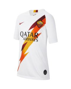 Nike A.S. Roma Youth Away Jersey 2019/20 - White