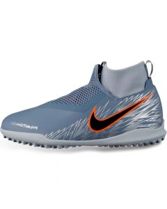 Nike Phantom Vision Academy Dynamic Fit Turf Soccer Shoes Junior - Armory Blue - Victory Pack