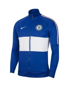 Nike Chelsea Mens Anthem Jacket 19/20 - White Blue