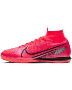 Nike Mercurial Superfly 7 Elite Indoor Soccer Cleats Mens - Laser Crimson - Future Lab PT1