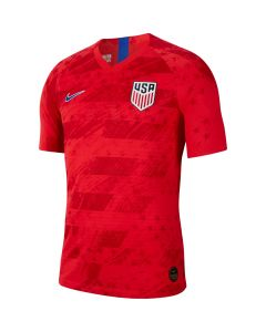 Nike USA Mens Authentic Away Jersey 2019-Red