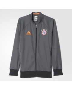 adidas Bayern Munich Anthem Jacket - Dark Grey