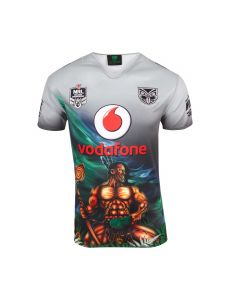 CCC Vodafone Warriors Indigenous Pro Jersey 2018 - Grey