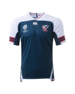 CCC USA Rugby World Cup Away Pro Jersey- Navy