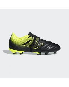 adidas Copa Gloro 19.2 FG firm ground soccer cleats - Black/Yellow - Exhibit Pack