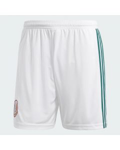 adidas Mexico Home Shorts Mens 2018 - White - World Cup 2018