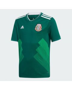adidas Mexico Home Jersey Youth 2018 - Green - World Cup 2018
