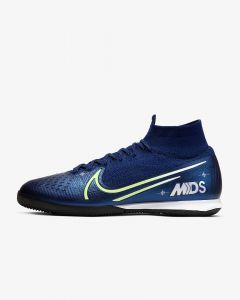 Nike Superflyx 7 Elite MDS IC Indoor Court soccer shoes Dream Speed Blue