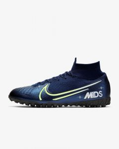 Nike mens Superfly 7 Elite MDS TF turf soccer shoes Dream Speed Blue
