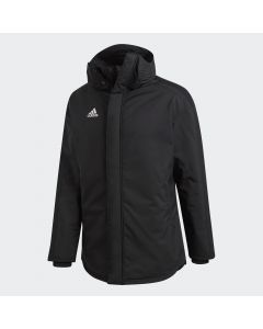 adidas 18 Stadium Parka Jacket - Black