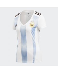 adidas Argentina Home Jersey Women's 2018 - White/Blue - World Cup 2018