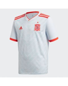 adidas Spain Away Jersey Youth 2018 - White - World Cup 2018