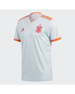 adidas Spain Away Jersey Mens 2018 - White - World Cup 2018