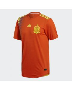 adidas Spain Home Authentic Jersey 2018 - Red - World Cup 2018