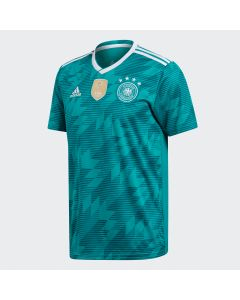 adidas Germany Away Jersey Mens 2018 - Green/White - World Cup 2018