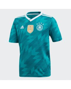 adidas Germany Away Jersey Youth 2018 - Green/White - World Cup 2018