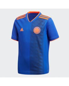 adidas Colombia Away Jersey Youth 2018 - Royal - World Cup 2018