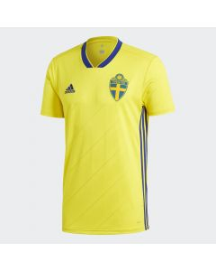 adidas Sweden Home Jersey Mens 2018 - Yellow - World Cup 2018
