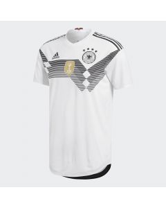 adidas Germany Home Authentic Jersey 2018 - White - World Cup 2018